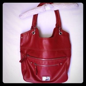 Red Nine West handbag